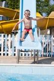 Resbale en la piscina Fotos de archivo libres de regalías