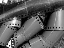 Resbale la película Imágenes de archivo libres de regalías