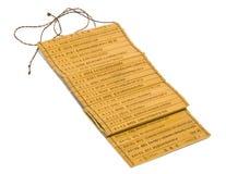 Resbalones del bambú Fotografía de archivo