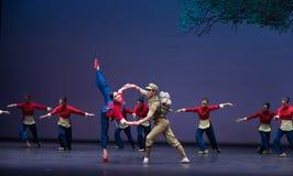 Rescate cada sensación de Yimeng del otro-ballet Imagen de archivo