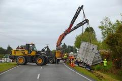Rescate del camión Fotografía de archivo