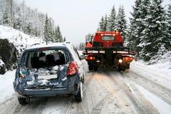 Rescate del coche Fotografía de archivo libre de regalías