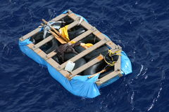 Rescate en el mar Imágenes de archivo libres de regalías
