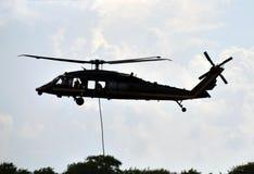 Rescate por helicóptero Imagen de archivo