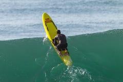 Rescate Ski Craft Wave Ocean de la salvación Fotografía de archivo libre de regalías