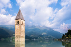 Reschenpass Royalty Free Stock Images