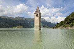 Reschensee Royalty Free Stock Images