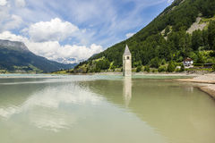 Reschensee Stock Photo