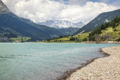 Reschensee Royalty Free Stock Photos