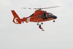 Rescue. US Coast Guard rescue Royalty Free Stock Photos