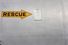 Rescue Arrow 2 Royalty Free Stock Image
