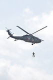 Rescue Blackhawk helicopter Royalty Free Stock Image