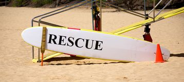 Rescue board Stock Photo