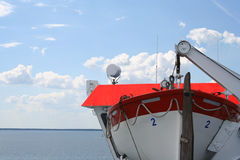 Rescue boat.  Royalty Free Stock Image