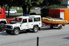Rescue boat Stock Photos