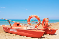Rescue Boat Stock Photography