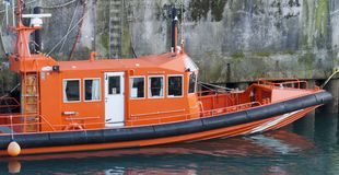 Rescue boat Stock Image