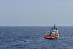The rescue boat Stock Photography