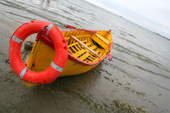 Rescue boat Stock Photo