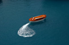 Rescue boat. Stock Photo