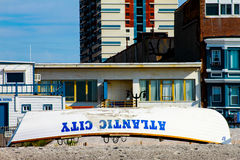 Rescue Boat, Atlantic City, NJ. Royalty Free Stock Photos