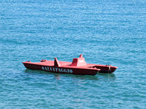 Rescue boat Stock Image