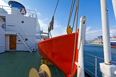 Rescue boat Stock Photo