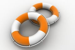 Rescue boats Royalty Free Stock Photography
