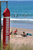 Rescue buoy Stock Photo
