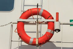 Rescue buoy Stock Image