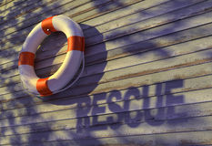 Rescue, buoy-ring Stock Images