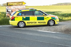 Rescue car in action Stock Images