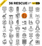 Rescue concept icons Royalty Free Stock Photo