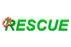Rescue concept Stock Image