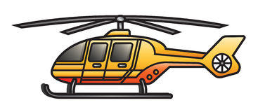 Rescue Copter Royalty Free Stock Images