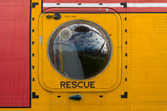 Rescue door Royalty Free Stock Photo
