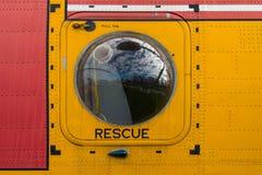 Rescue door Royalty Free Stock Photo