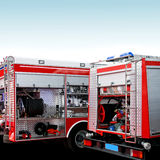 Rescue engines stock photography