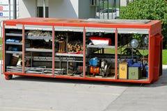 Rescue equipment box Stock Images