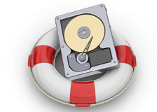 Rescue File on the Hard Disk Royalty Free Stock Images