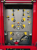 Rescue fire truck equipment Royalty Free Stock Photo