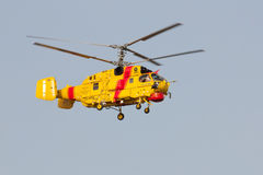 Rescue heavy helicopter training ILS approach Stock Photography