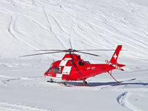 The rescue helicopter Royalty Free Stock Photography