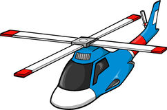 Rescue Helicopter. Vector Illustration of Rescue Helicopter Stock Photography