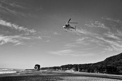 Rescue helicopter Royalty Free Stock Photo