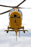Rescue Helicopter. Ready for action Royalty Free Stock Photo