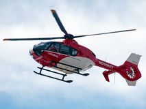 Rescue helicopter Stock Image