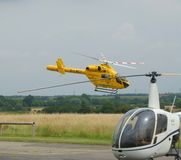 Rescue Helicopter Air Ambulance Royalty Free Stock Photography