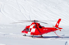 Rescue helicopter Stock Images