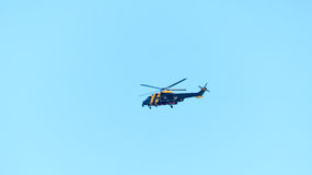 Rescue helicopter Stock Photography